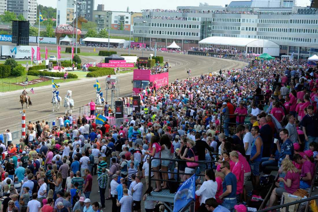 Runt 60 000 personer väntas besöka Solvalla i helgen