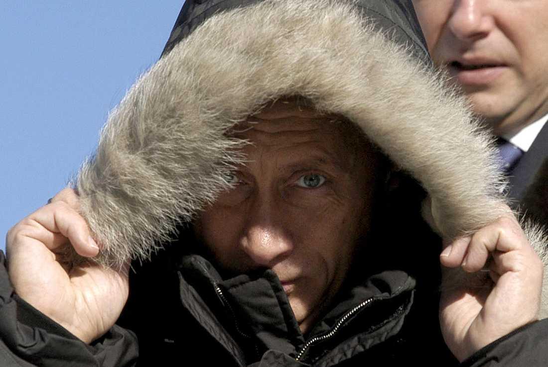 Brrr... Vintertid får de ryska soldaterna räkna med temperaturer på cirka 50 minusgrader.