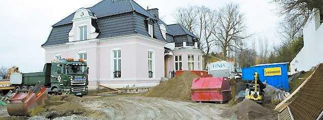 Byggarbetet är redan i full gång.Foto. DRAGO PRVULOVIC