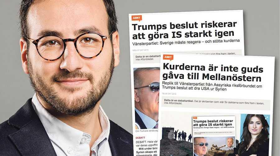 Turkiets angrepp syftar till att utrota kurdernas landvinningar. Det kan jag aldrig stillatigande acceptera. Inte som vänsterpartist, och inte som assyrier, skriver Tony Haddou.