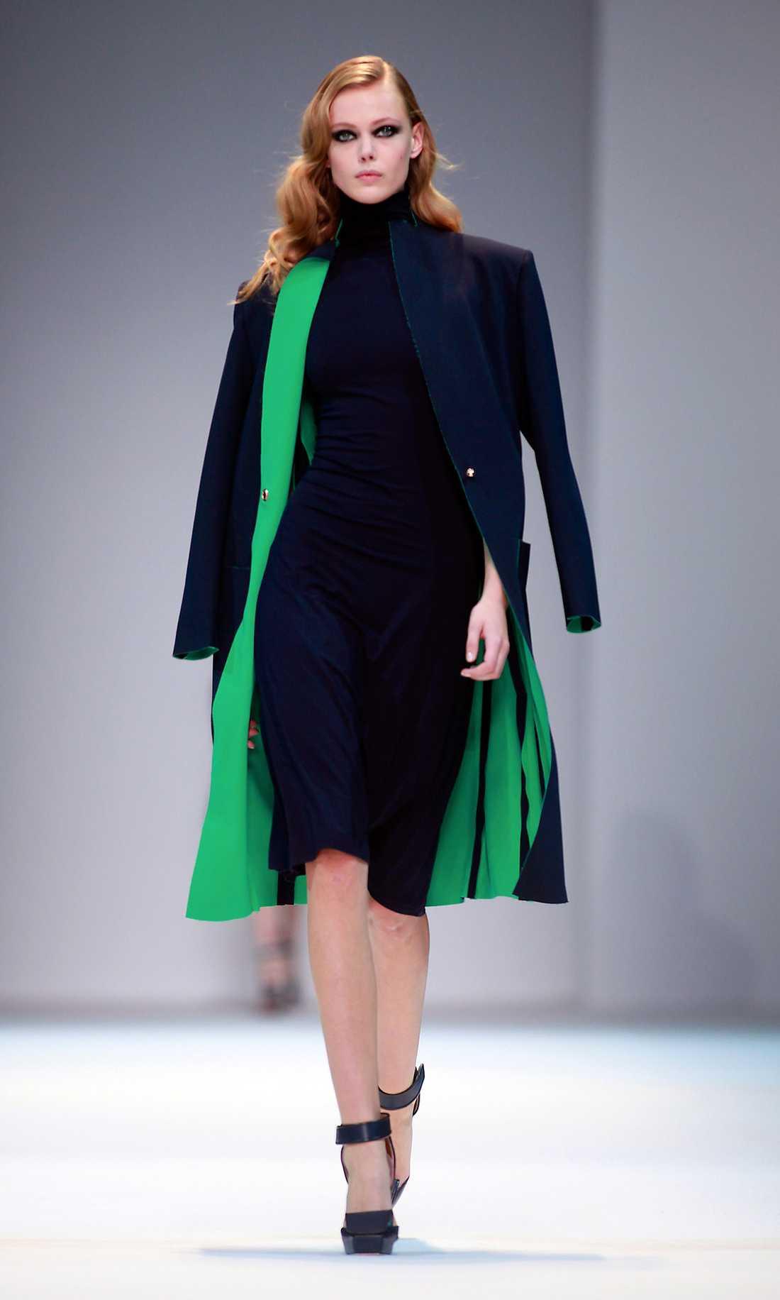 Guy Laroche Frida Gustavsson har gått visningar för i stort sett alla de stora modehusen.