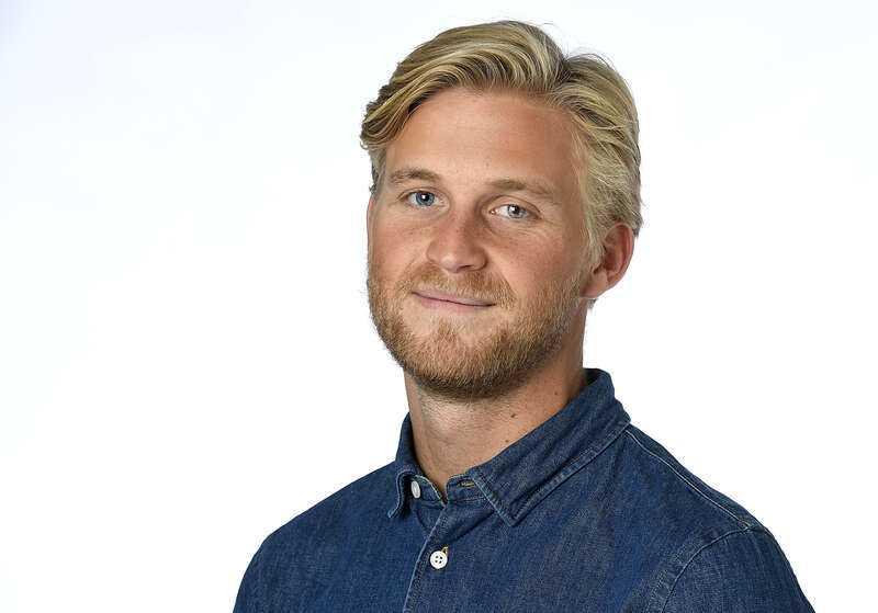Mikael Sjöstrand, meteorolog på Klart.