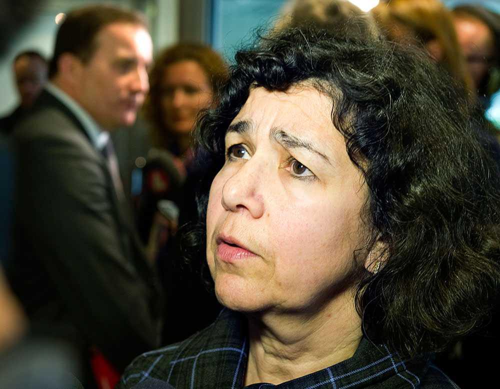 Lena Posner-Körösi, ordförande i judiska centralrådet.