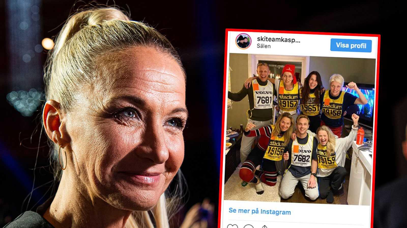"""Lets dance""""-vinnarna om pärsen i Vasaloppet: """"Mörbultad"""""""
