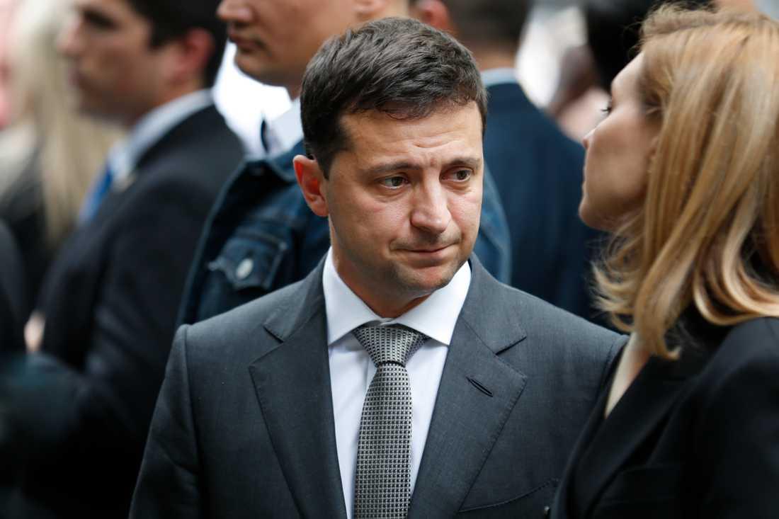 Volodymyr Zelenskyj, Ukrainas president.