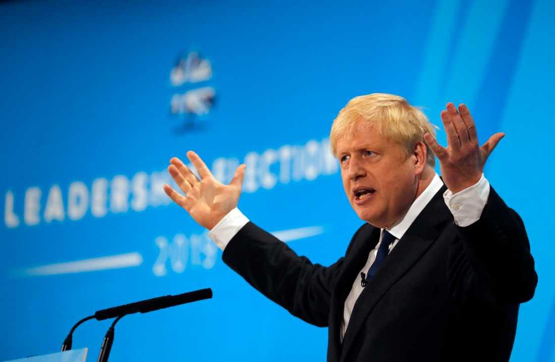 Boris Johnson är favorittippad att efterträda Theresa May som Storbritanniens premiärminister.