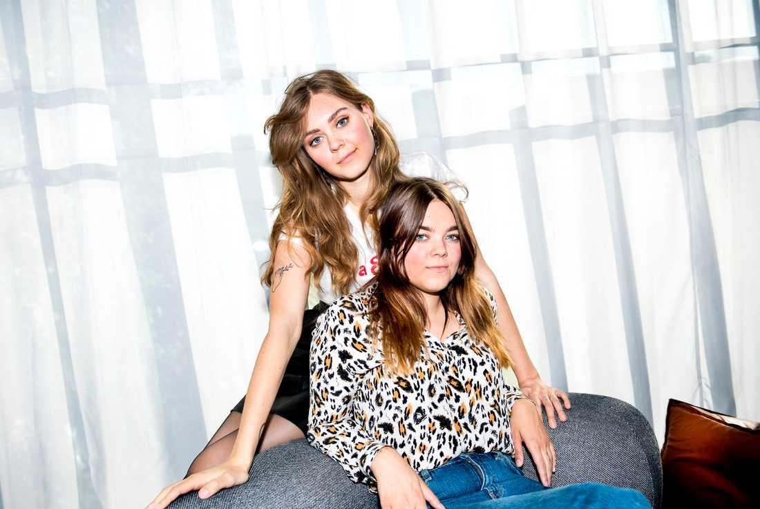Johanna och Klara Söderberg har gjort årets album, tycker Markus Larsson.