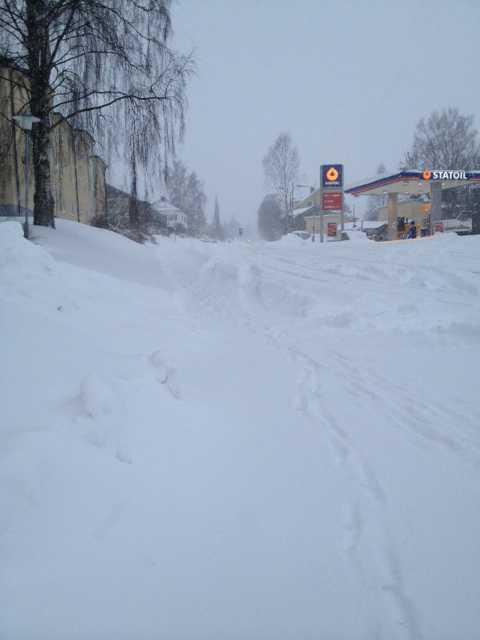 Sundsvall vid 10.30-tiden.