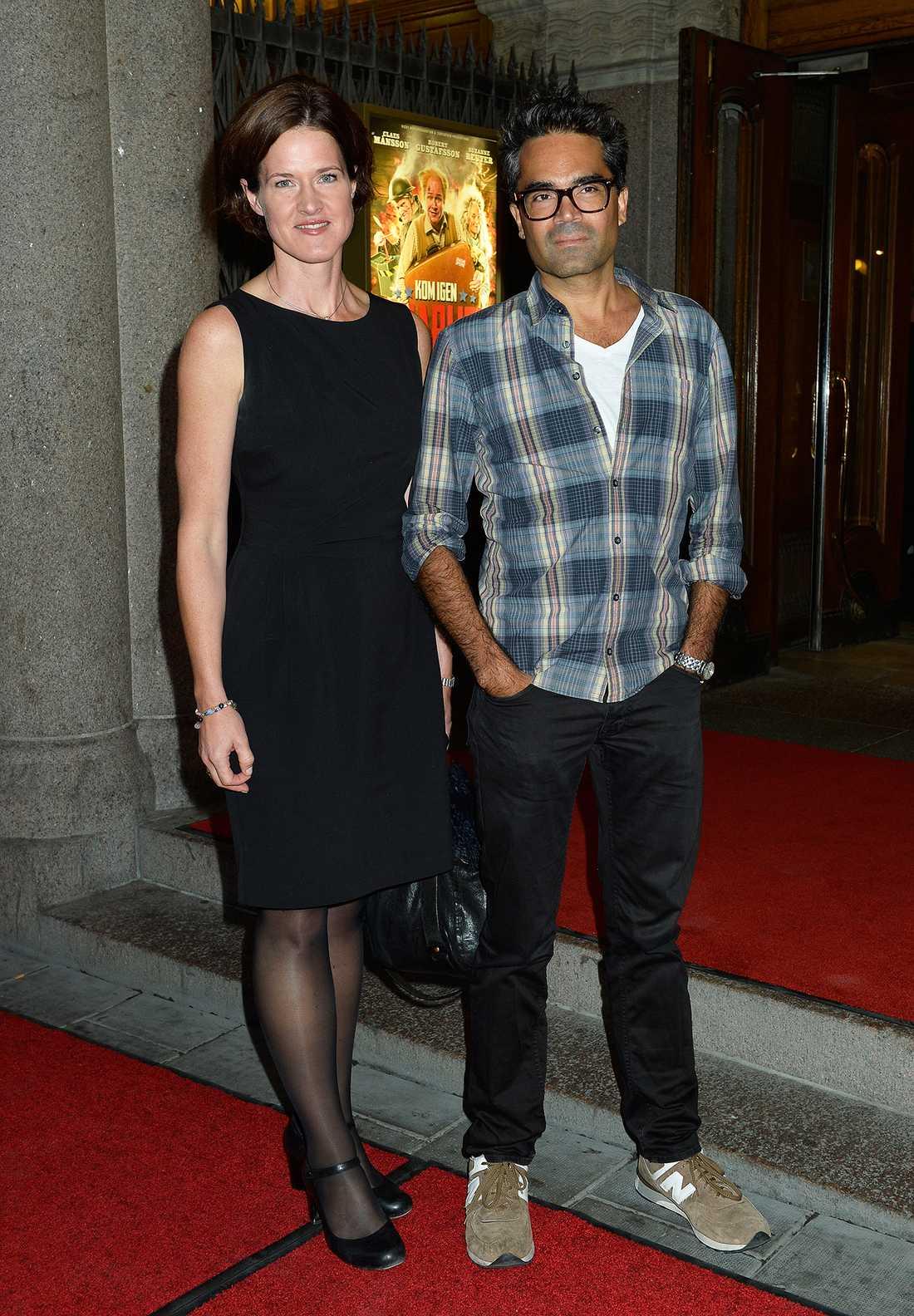 David Batra och Anna Kinberg Batra.