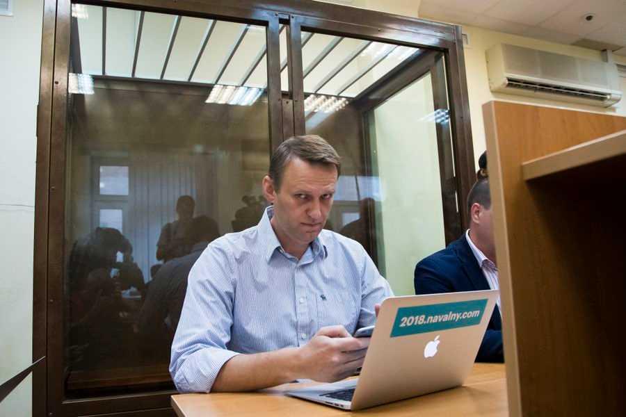 Aleksej Navalnyj har än en gång gripits av rysk polis. Arkivbild.