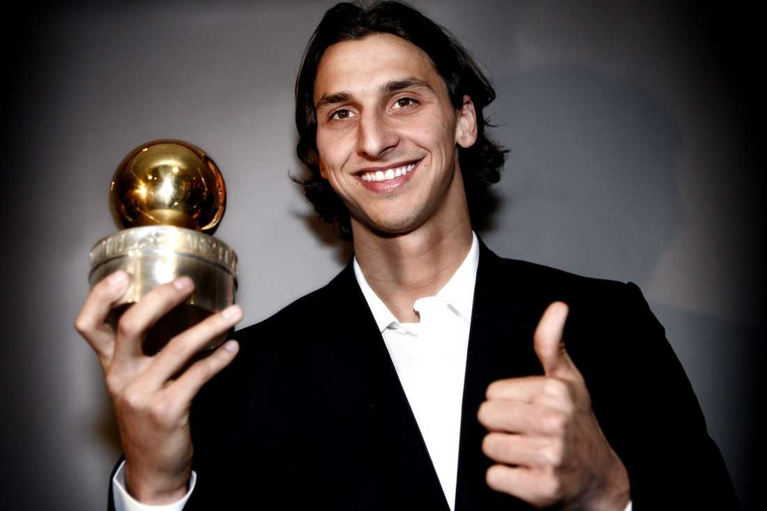 """2007: Zlatan Ibrahimovic, Inter Juryns motivering: """"En spelare som på allra yppersta nivå utvecklat sin unika talang såväl taktiskt som tekniskt och nu är en av världens främsta i sin position. Han är en ledargestalt i såväl landslag som klubblag och en lysande representant för svensk fotboll"""""""