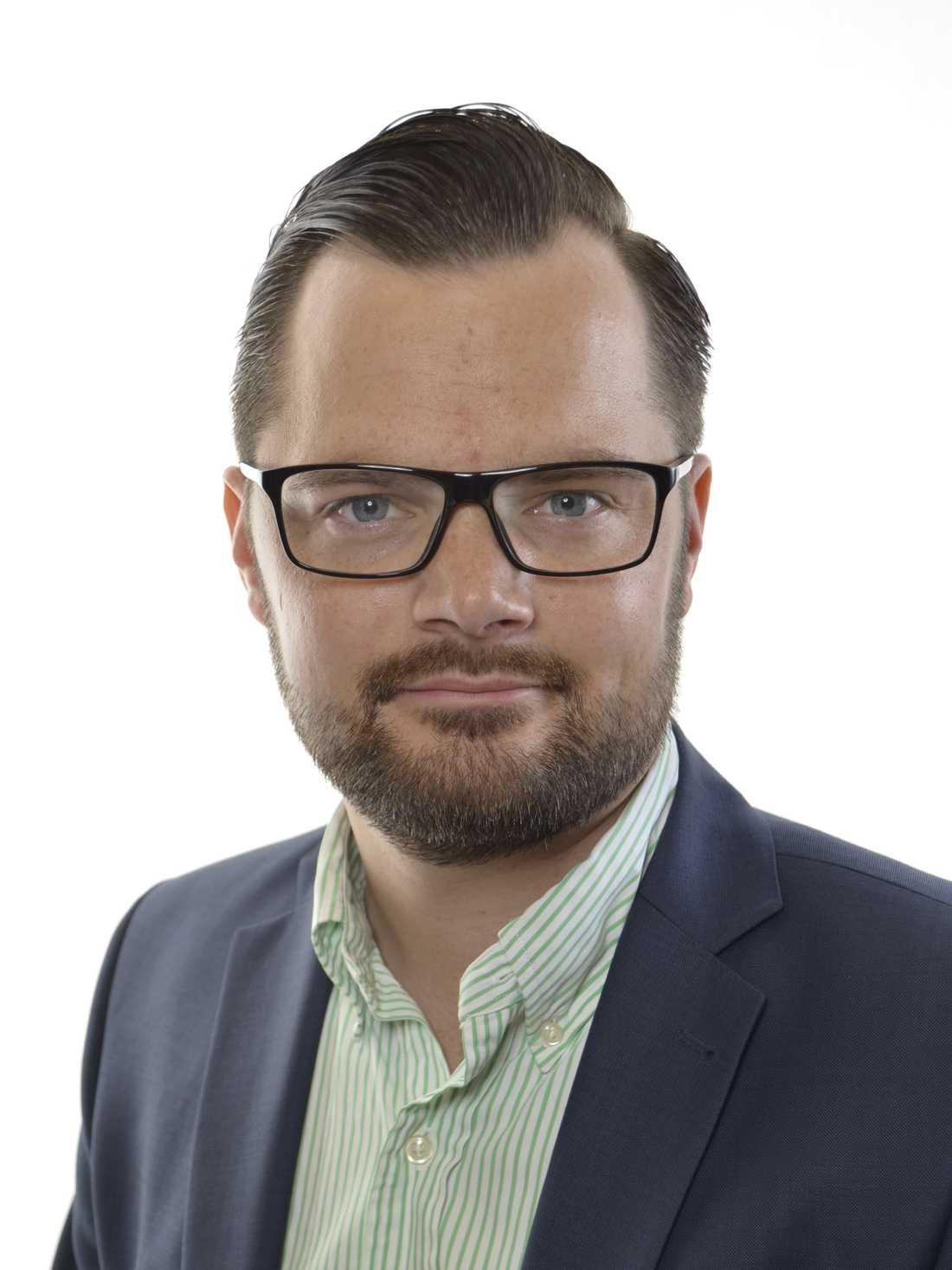 Adam Marttinen, rättspolitisk talesperson (SD)