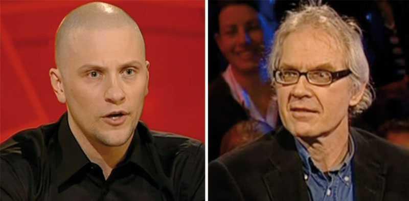 """Magnus Betnér passade också på att kalla Lars Vilks för """"uppmärksamhetsknarkande mediehora"""" eftersom han deltog """"i det här jävla skitprogrammet""""."""