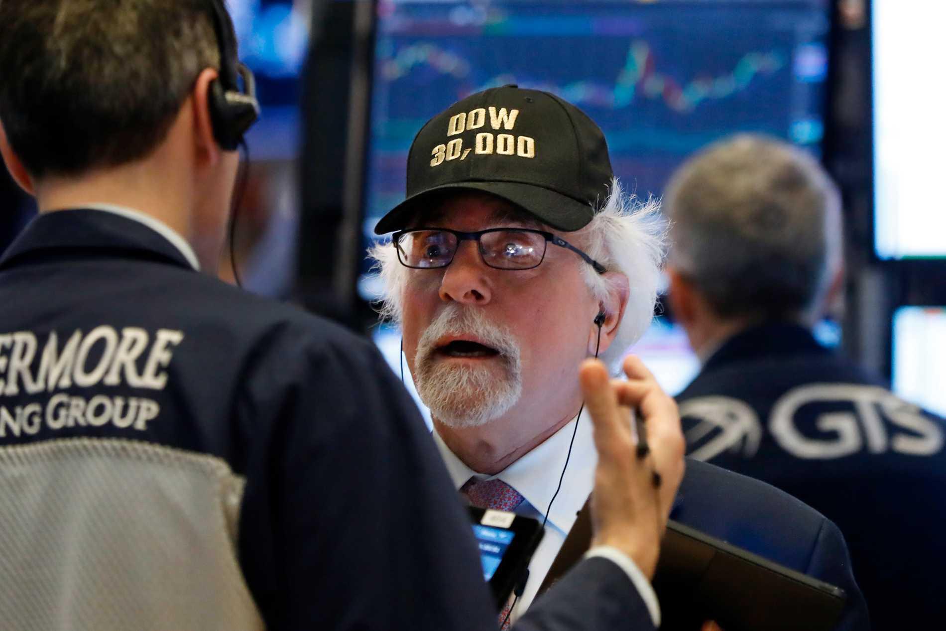 Wall Street på ny rekordnivå
