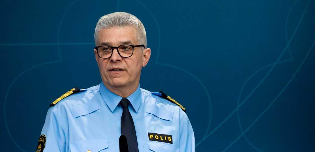 Rikspolischef Anders Thornberg