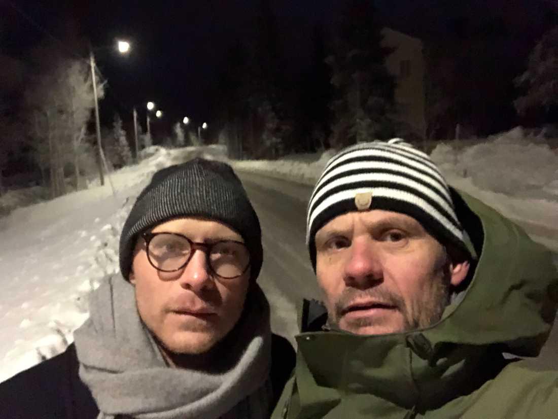 Reporter: Gustaf Tronarp och fotograf: Jerker Ivarsson.