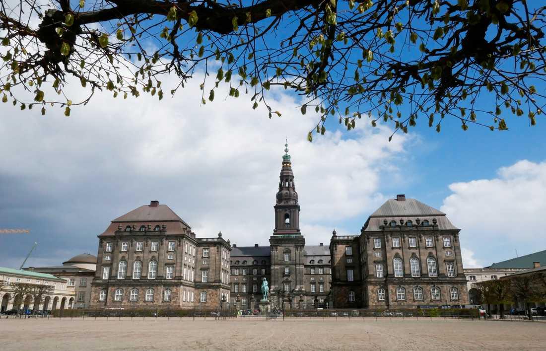 Folketinget håller till i Christiansborg i centrala Köpenhamn. Arkivbild.