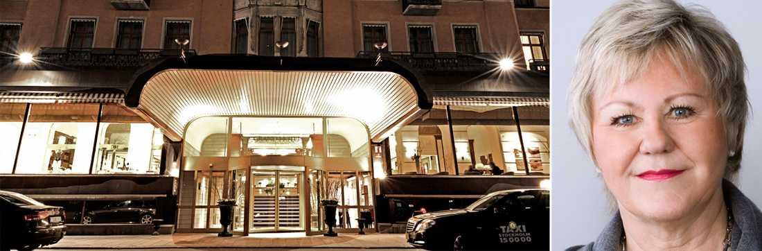 Ett enkelt bokföringsknep gjorde att Tillväxtverket, och dess generaldirektör Christina Lugnet kunde kräva tillbaka över 50 000 kronor för avslutningsmiddagen på Grand Hotel.