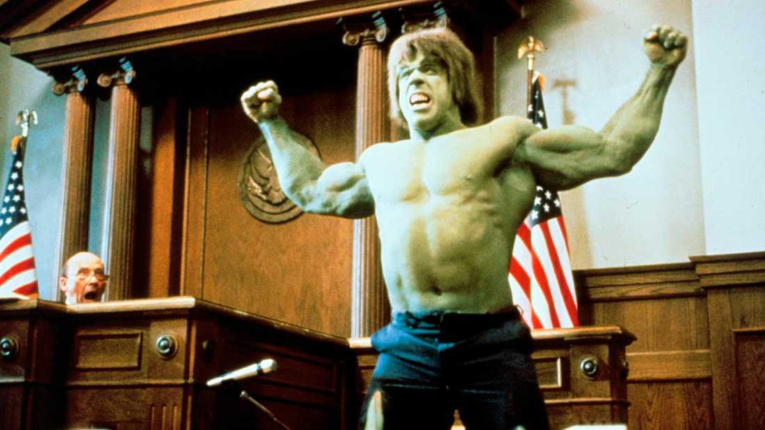 Lou Ferrigno som Hulken.