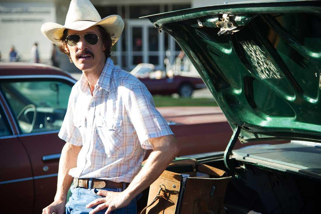 Matthew McConaughey som Ron Woodroof i Dallas buyers club.