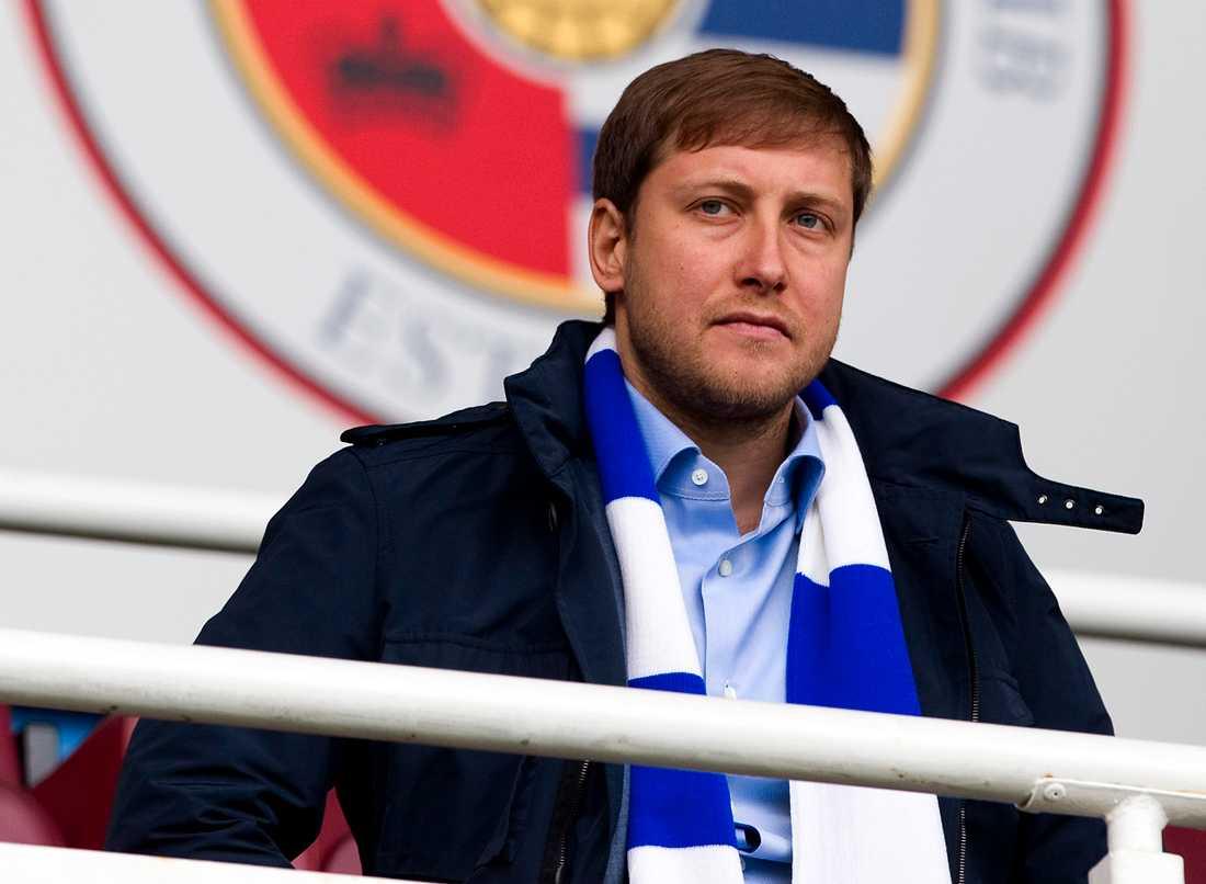 Förmögne ryssen Anton Zingarevich – tidigare ägare i engelska Reading – ska leda bulgariska Botev Plovdiv tillbaka mot toppen.