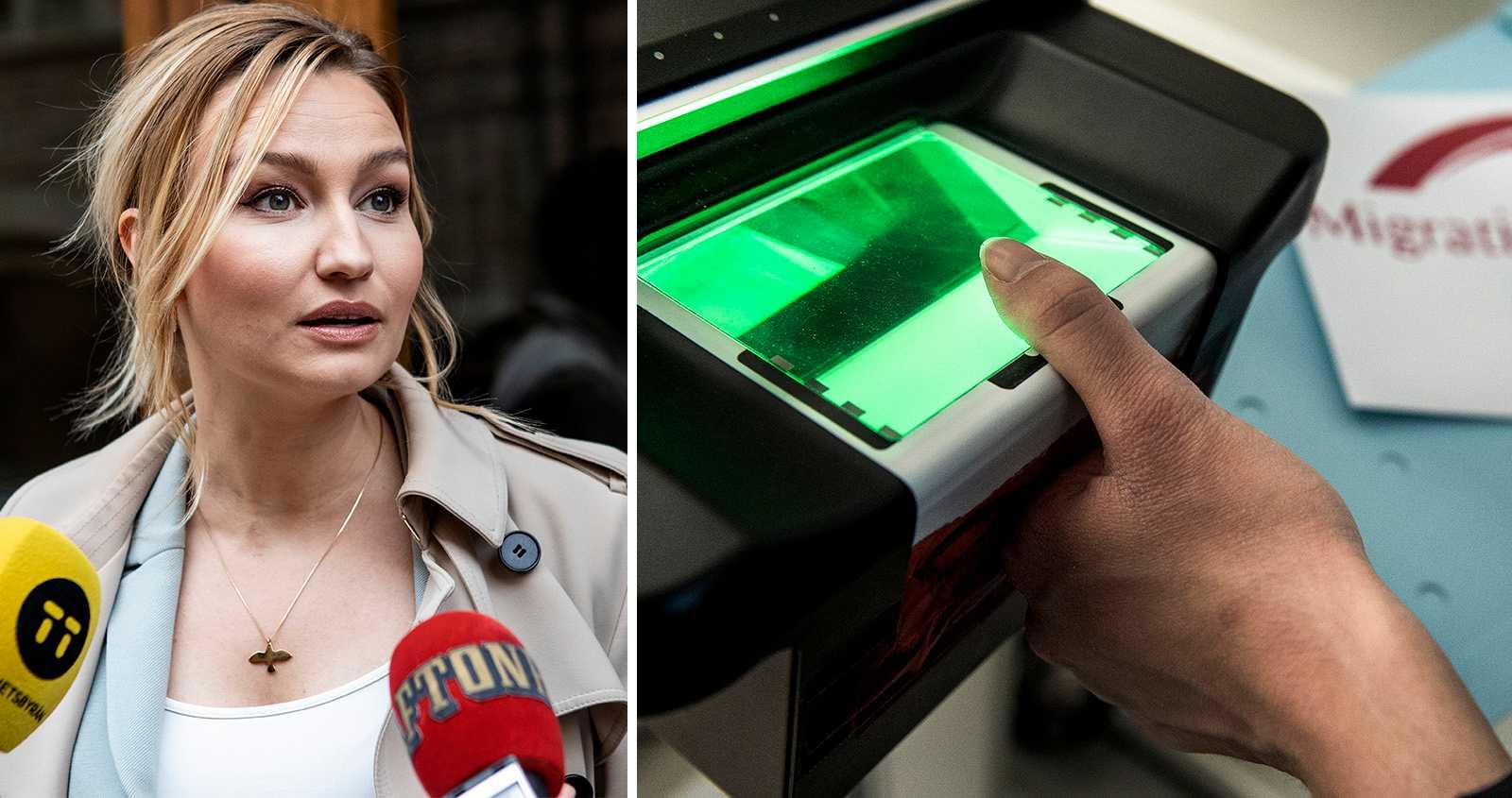 KD vill lagra biometriska data av utlänningar