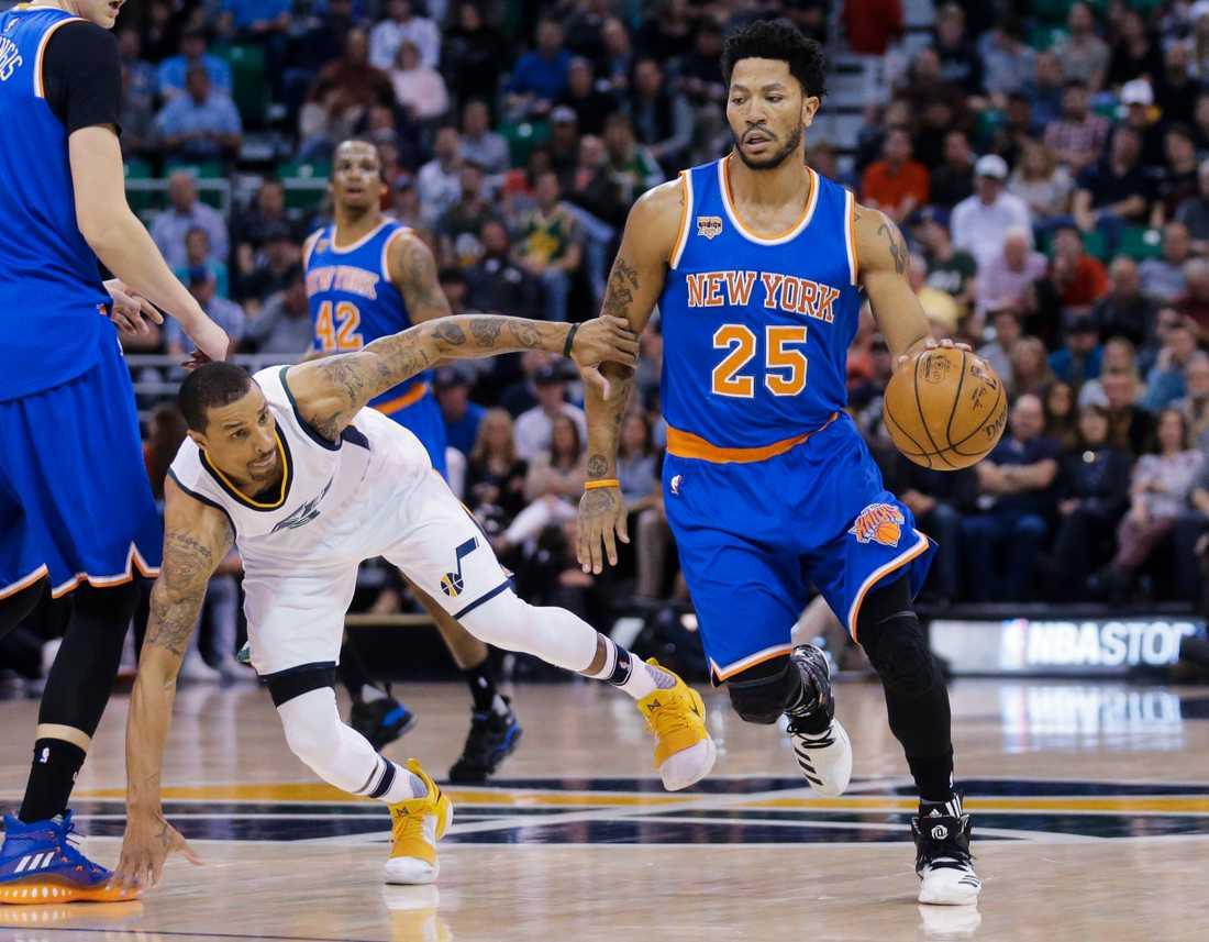 Derrick Rose byter New York mot Cleveland, Knicks mot Cavaliers.