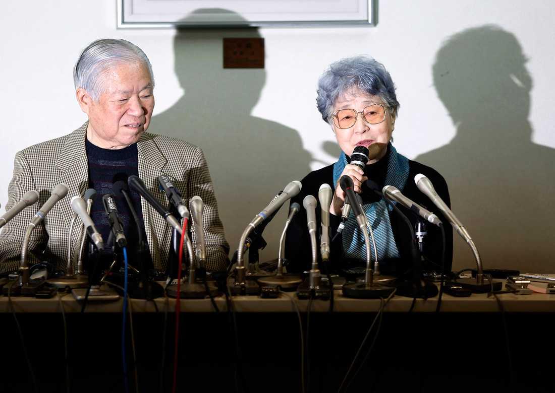 Megumi Yokotas föräldrar fick veta var hon tagit vägen först när hela kidnapparhärvan nystades upp i slutet av 1990-talet.