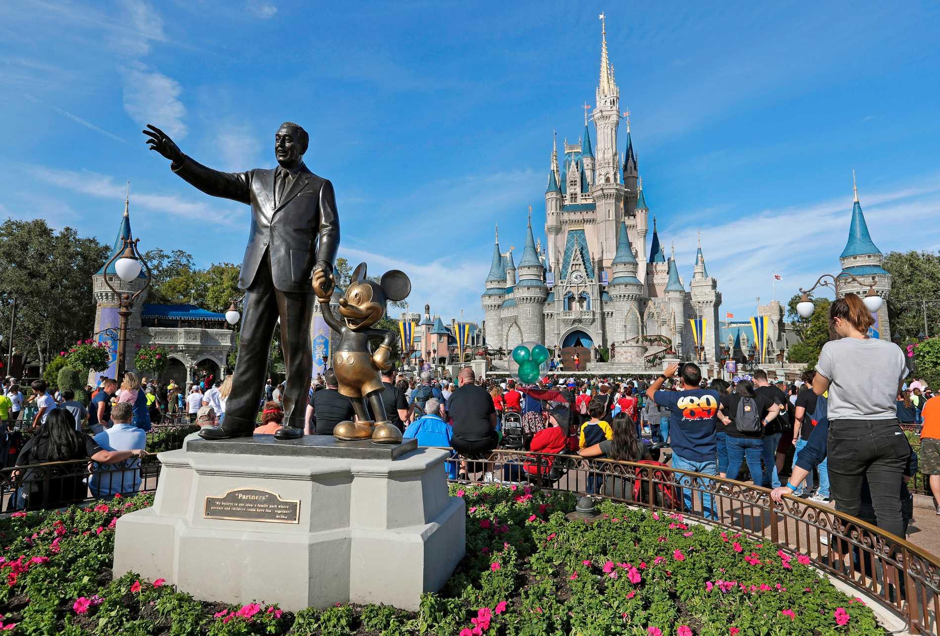 Disney World i Orlando.