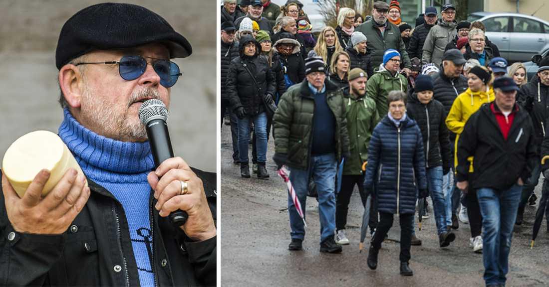 Ostprotest i Boxholm 2018.