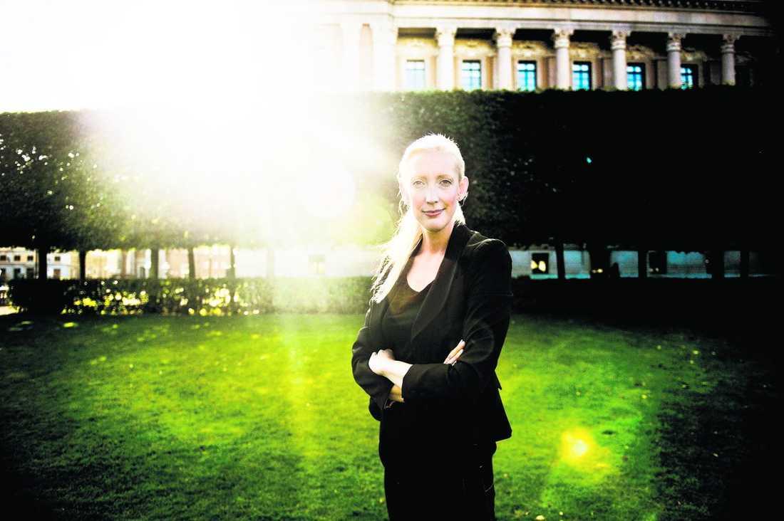 Den gröna högerhanden Sofia Arkelsten, talesperson i miljö- och klimatfrågor, har gjort kometkarriär i Moderaterna. Som Reinfeldts nya partisekreterare blir hon en av landets mäktigaste kvinnliga politiker.