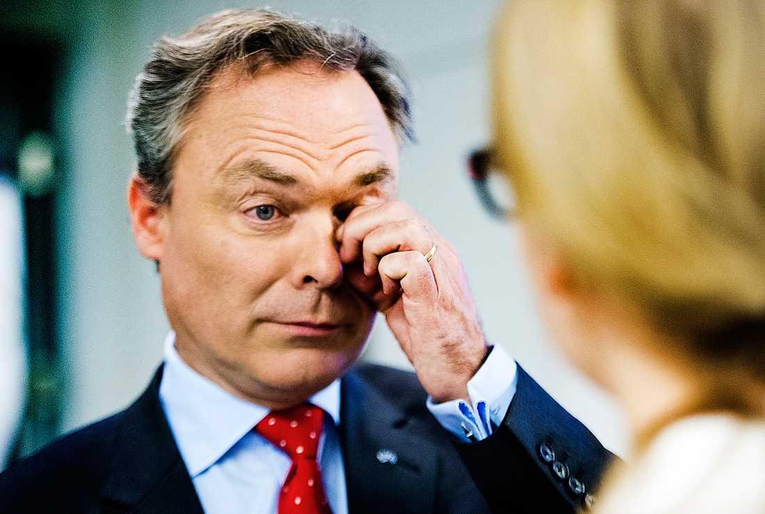 STÅR STILLA Utbildningsminister Jan Björklund verkar inte ha åstadkommit någonting med den svenska skolan – på sju år.