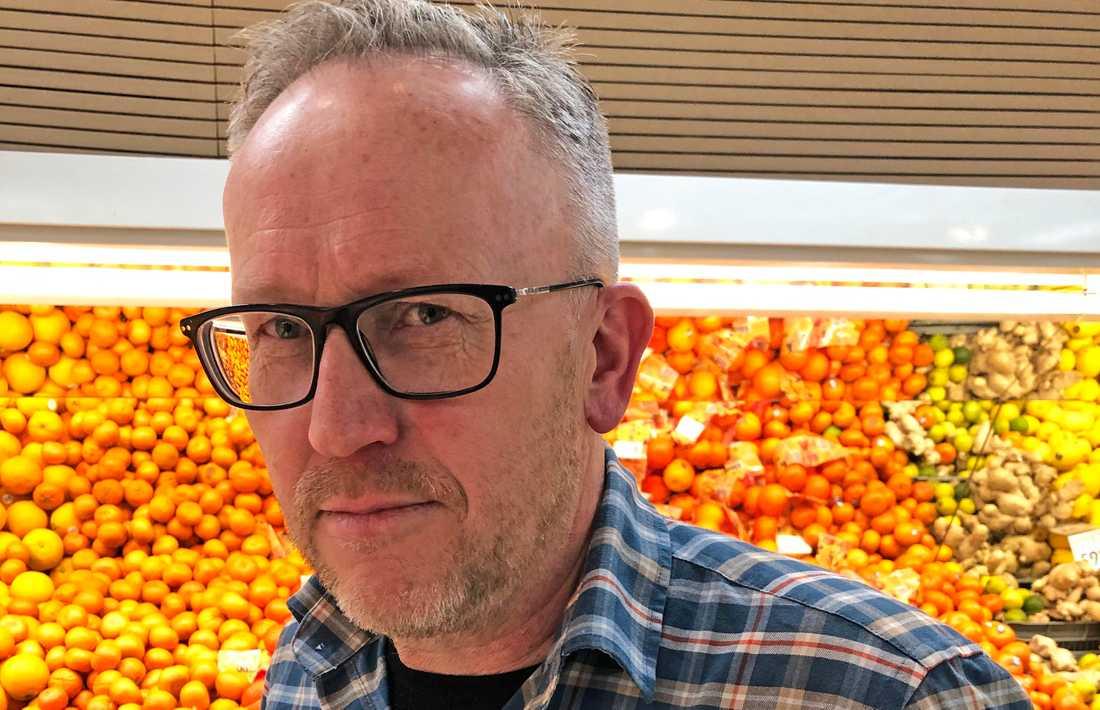 Ica-handlaren Örjan Josefsson.