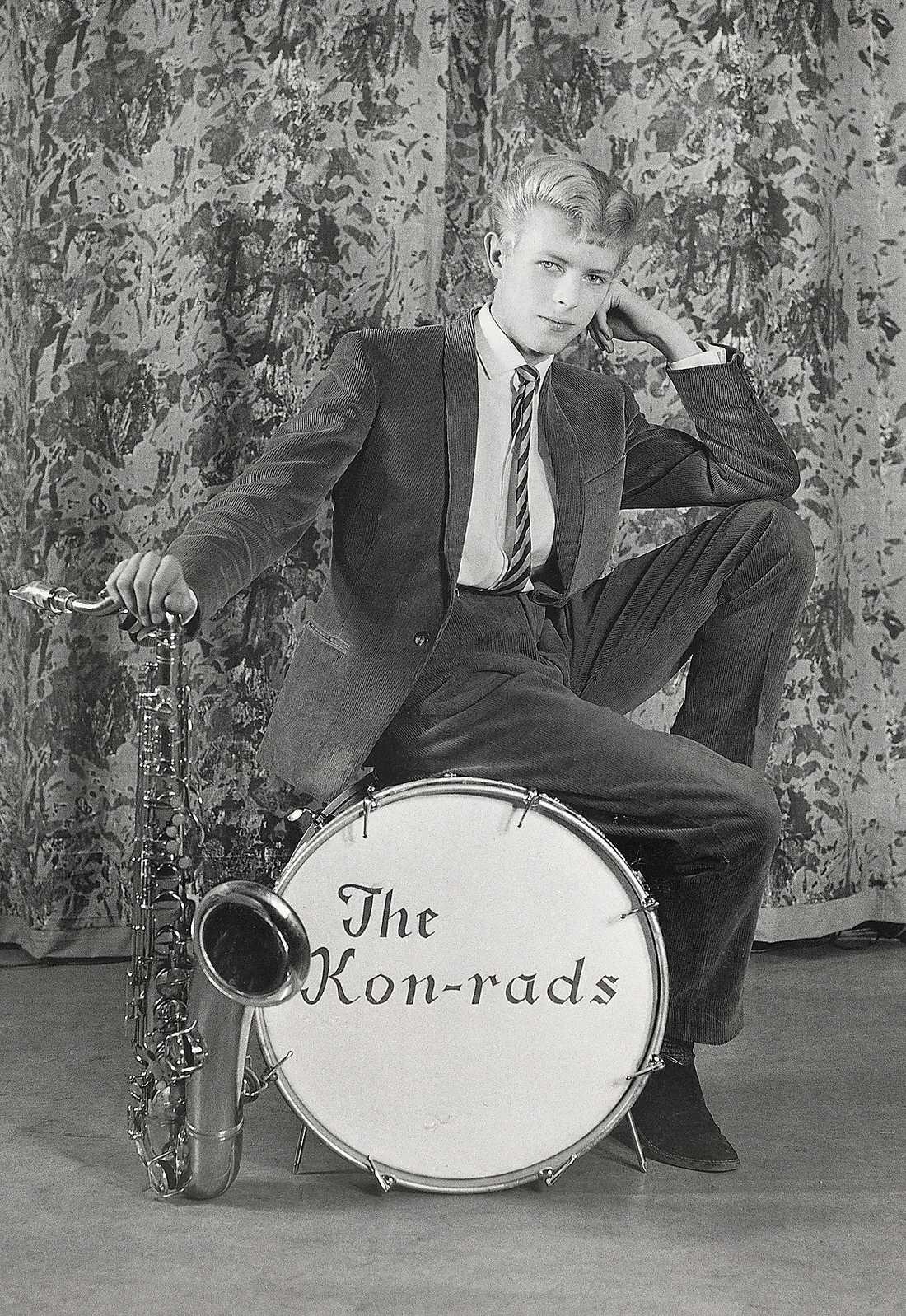 David Bowie (David Jones)  i The Kon-rads 1963.