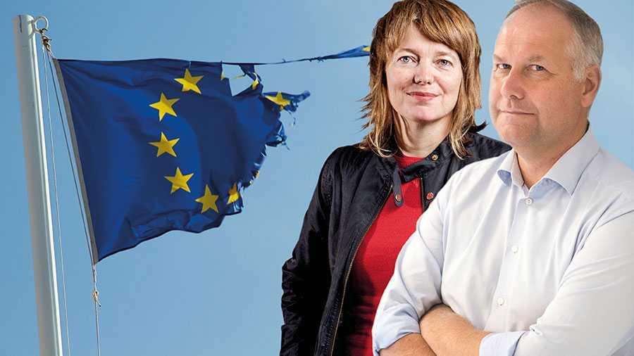 Folkomröstningens beslut från 2003 måste respekteras. EU:s återhämtningsfond efter coronakrisen bör vara en fråga för euroländerna, inte för oss. Sveriges regering måste göra tydligt att vi ska stå fria från den nya fonden, skriver Jonas Sjöstedt och Malin Björk.