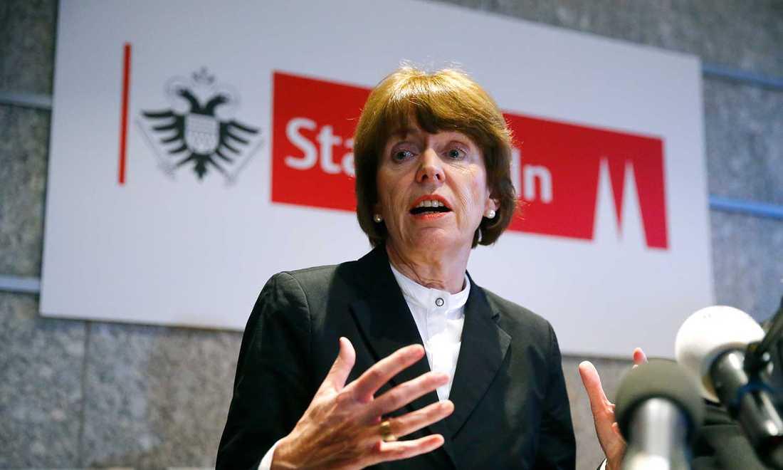 Kölns borgmästare Henriette Reker.