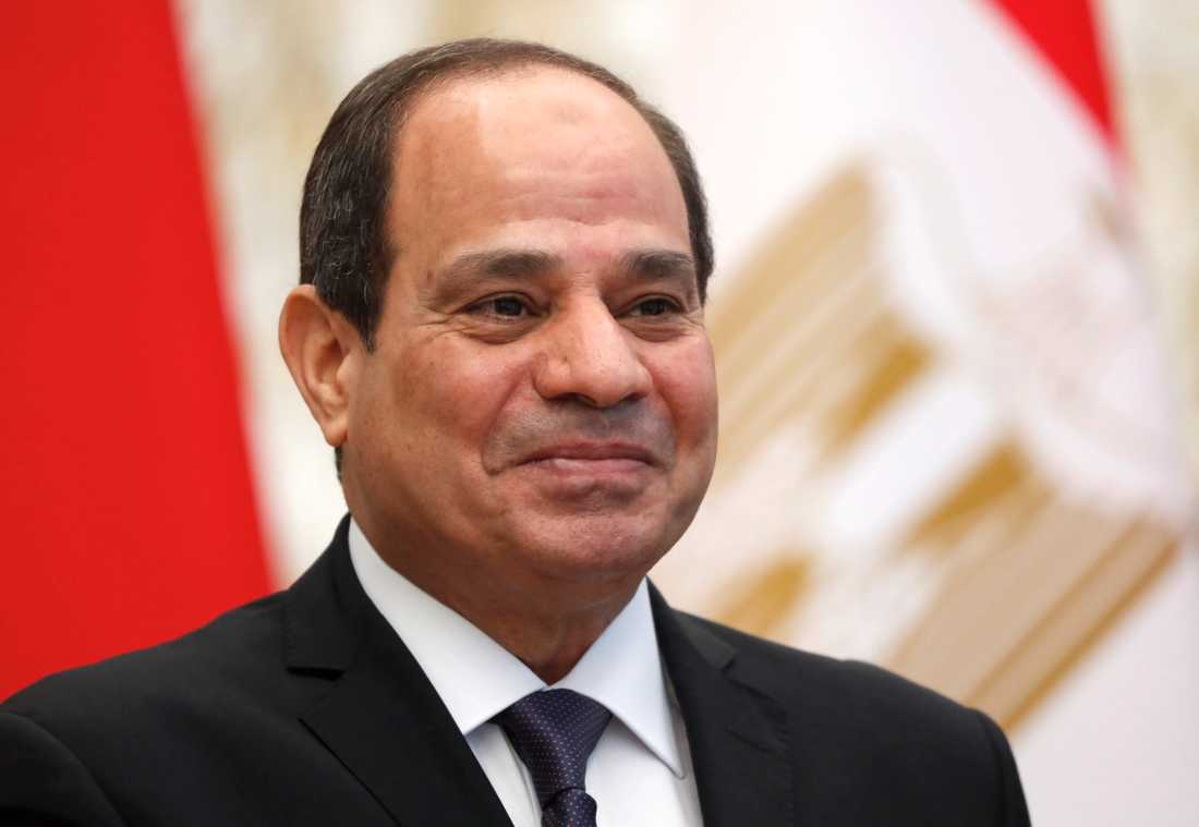 Protester mot Egyptens president Abd al-Fattah al-Sisi i Egypten har lett till massgripanden. Amnesty International säger att en ledande aktivist torteras i fängelse. Arkivbild.