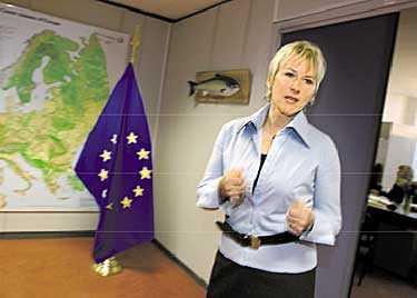 LYSSNA PÅ WALLSTRÖM Margot Wallströms förslag om demokratisering av EU är värt att lyfta fram, nu när allt talar för att EU-konstitutionen är skjuten i sank och att det därmed heller inte lär bli något svenskt riksdagsbeslut om den under hösten.