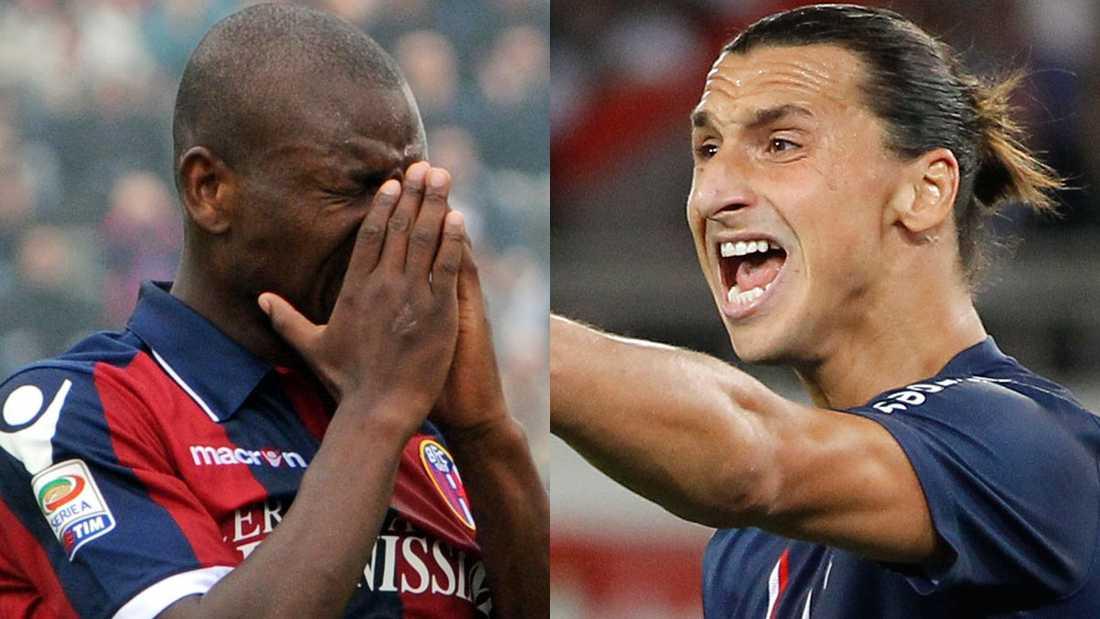 Gaby Mudingayi och Zlatan Ibrahimovic.
