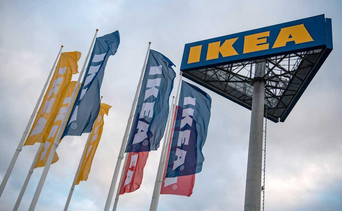 Ikea klassar fortfarande möbeln som säker. Arkivbild.
