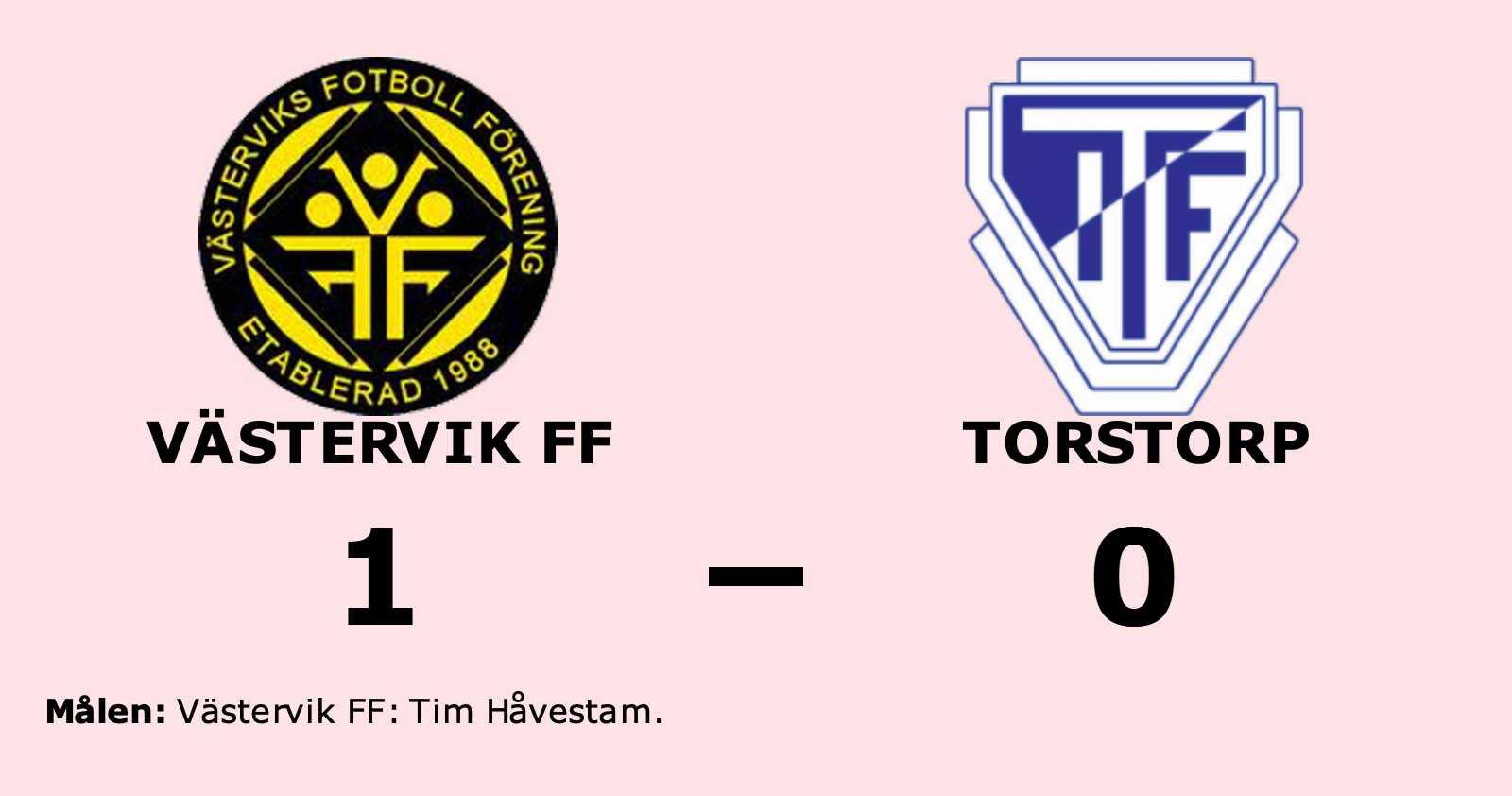 Torstorp föll mot Västervik FF på bortaplan