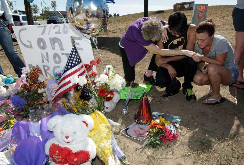 Tolv personer dog vid skjutningen i Aurora.