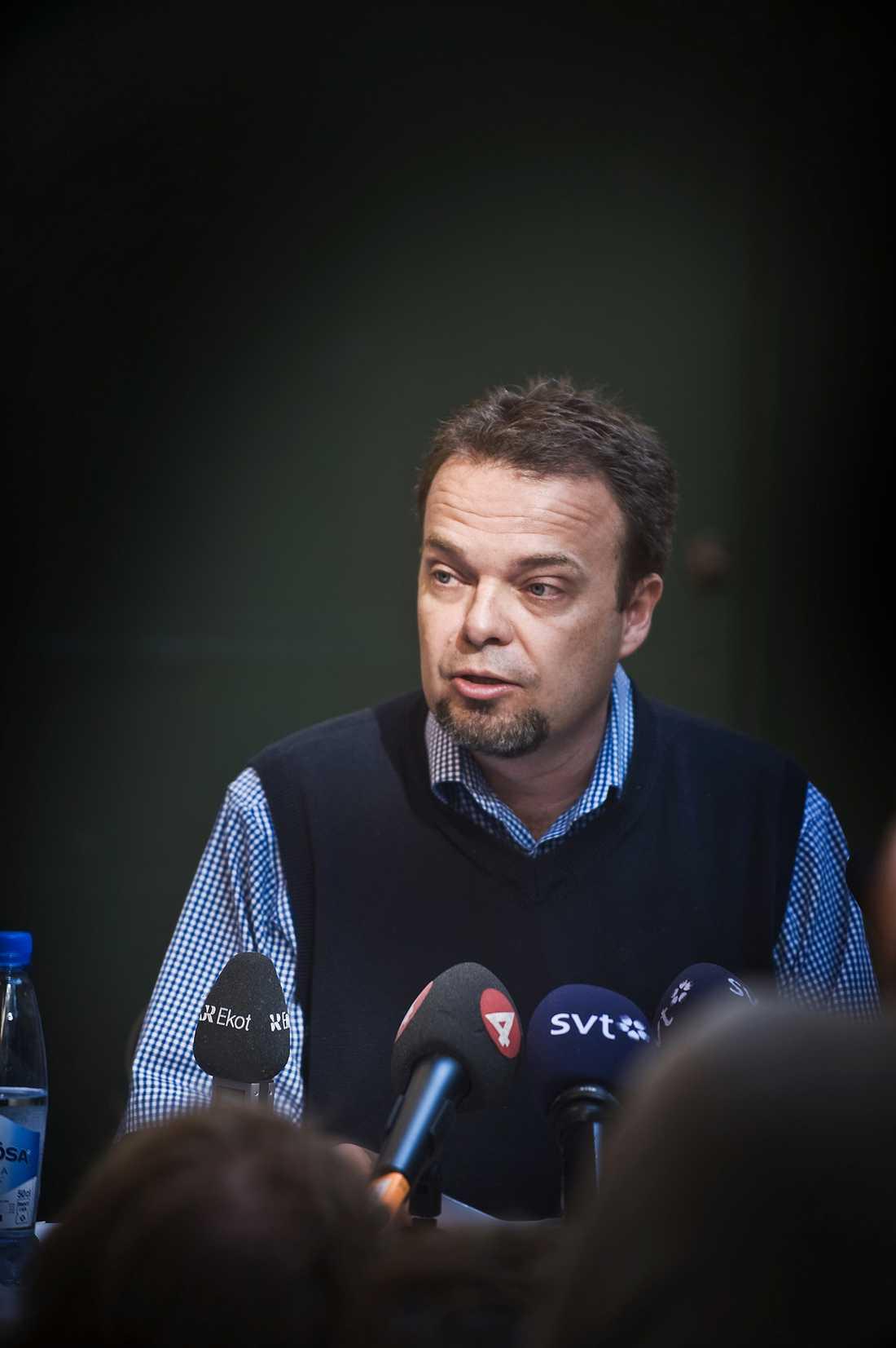 AVGICK UNDER ALMEDALEN Sven Otto Littorin avgick från sin post som arbetsmarknadsminister den 7 juli i fjol.