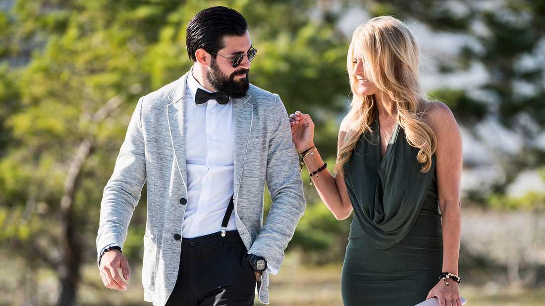 Korosh Kananian och Laila Bagge är inne på sitt sjätte år tillsammans.