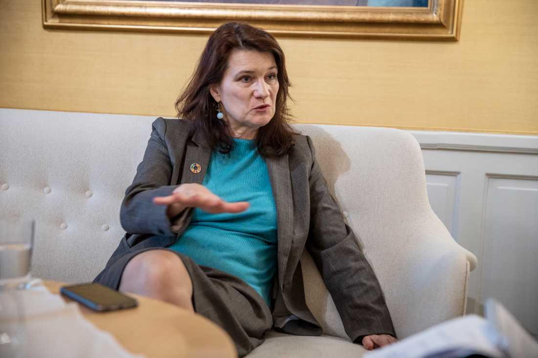 Handelsminister Ann Linde (S).