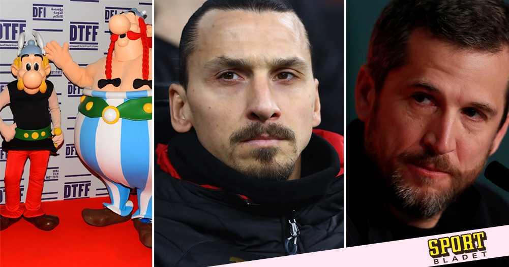 Därför fick Zlatan rollen i Asterix-filmen