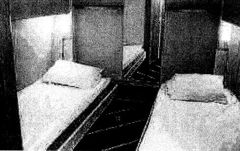 Bild på hytten där våldtäkten misstänks ha ägt rum.