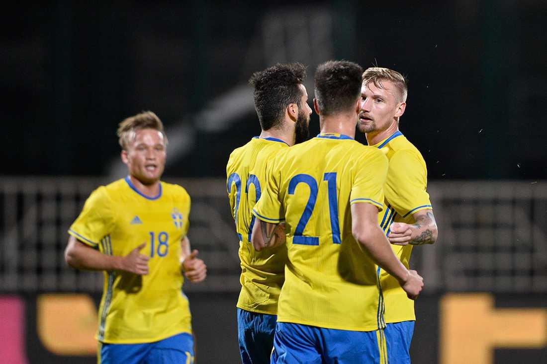 Sverige spelade oavgjort mot Estland igår.