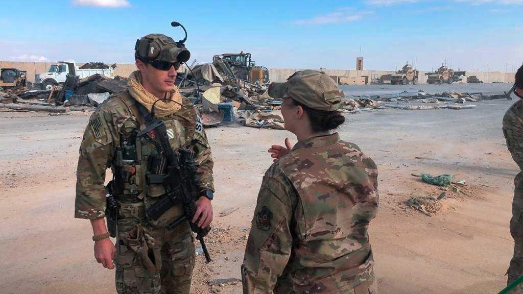 Amerikanska soldater i Irak. Arkivbild.