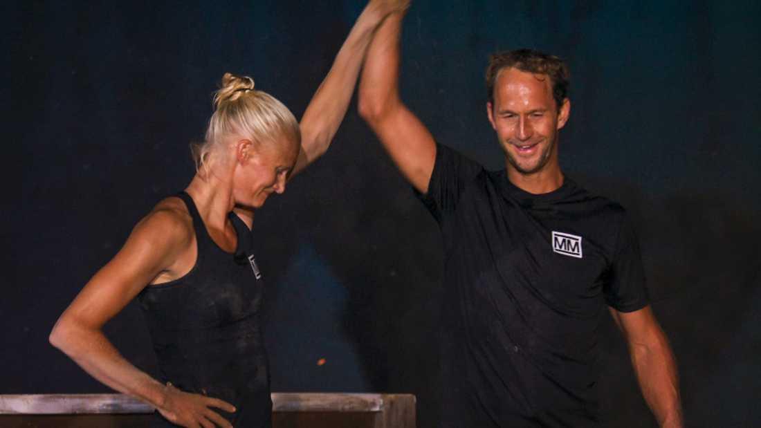 Anders Södergren besegrade Carolina Klüft i Mästarduellen